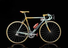 Marco Pantani's 1998 Tour de France, Giro d'Italia Bike Revisited at the Bianchi Factory