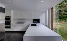 20 cozinhas brancas para você se inspirar - limaonagua