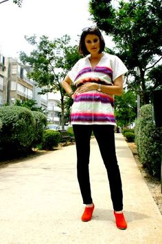 lemlem usually can work as maternity wear too! cute look