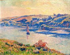 Henry Moret - Doëlan, brumes du matin, 1908