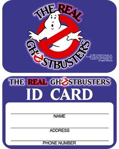 If my newer Kenner The Real Ghostbusters ID card hadn't been misplaced or lost I would have scanned it and included it with the Kenner Proton Pack instructions. Just because I don't have mine to sh… Halloween Costume Ghost, Diy Halloween, Halloween Noir, Diy Scarecrow Costume, Spooky Costumes, Clever Costumes, Halloween Makeup, Devil Costume, Halloween Halloween