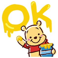 Winnie the Pooh stars in his first set of pop-up stickers! Their soft, crayon-style designs will be sure to warm your heart. Pooh and the gang can't wait to gently fill your screen! Cute Winnie The Pooh, Winne The Pooh, Winnie The Pooh Friends, Cute Disney, Disney Art, Disney Pixar, Bear Party, Walt Disney Company, Line Sticker