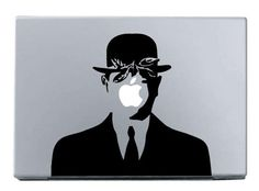 Magritte decal, awesome!