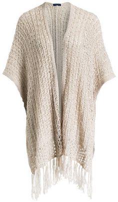 ONLY Damen Onlashford Open Poncho Knt   Fesch Anziehen - Fashion ... 8578412a5f20