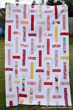 A walking lawn chair quilted!  Made by TheAccidentalCrafter.