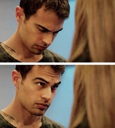 Tobias Eaton. OMG I KNOW A BOY WHO DOES THIS!!! I CAN NEVER LOOK AT FOUR THE SAME!!!!!