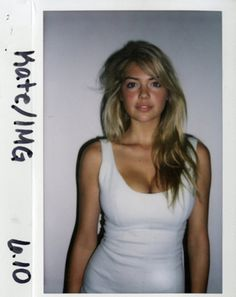 Kate Upton. 21 Polaroid Photos Of Supermodels Before They Were Famous