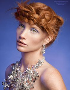 Jewel Crush - Los Angeles Fashion Magazine by Julia Kuzmenko McKim, via Behance