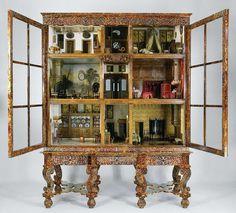 Poppenhuis van Petronella Oortman, anoniem, ca. 1686 - ca. 1710. Fabulous doll house.
