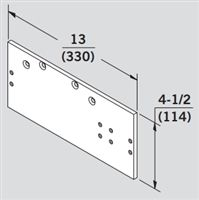 Dorma 8600-DP86FC: 8600 Series Surface Door Closers Accessories - Drop Plate
