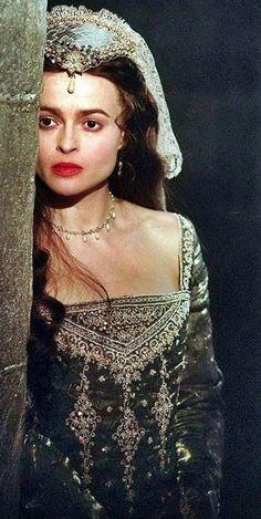Helena Bonham Carter as Anne Boleyn 'Henry VIII', 2003.