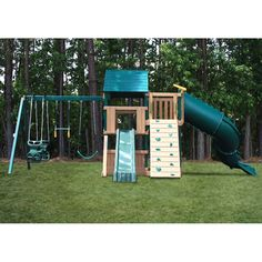 KidWise and Sand Congo Explorer Treehouse Climber Play Set