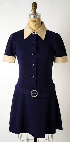Mary Quant dress ca. 1968 via The Costume Institute of the Metropolitan Museum of Art