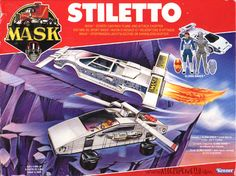 mask stiletto   Kenner MASK STILETTO BOX FRONT