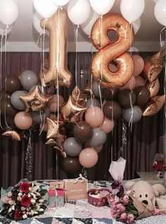 18 Ideas Birthday Surprise Goals For 2019 Birthday Goals, 18th Birthday Party, Birthday Surprise Ideas, 17th Birthday Party Ideas, Birthday Balloon Surprise, Birthday Surprises, Happy Birthday, Teen Birthday, Birthday Celebration