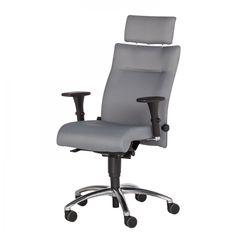 Schreibtischstuhl modern  Bürostuhl Schreibtischstuhl Drehstuhl Chefsessel schwarz Echtleder ...