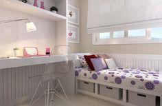 decoração de quarto pequeno menina - Pesquisa Google