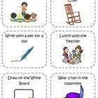 This two page file has a variety of coupons you can use with your students as an incentive for making good choices. Rewards include bringing in som...