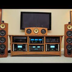 McIntosh home theater system. … McIntosh home theater system. Sound Room, Audio Engineer, Vinyl Collectors, Home Speakers, Home Tech, Audio Room, Vinyl Junkies, Vinyl Storage, Vinyl Music