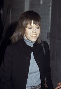 Few celebrities have had such prolific careers as Jane Fonda. Here, explore the actress and activist's many beauty looks from 1965 to now. Cut Her Hair, Hair Cuts, Anita Pallenberg, Sports Today, Orange Lips, The Game Is Over, Perfect Smile, Jane Fonda, Long Lashes