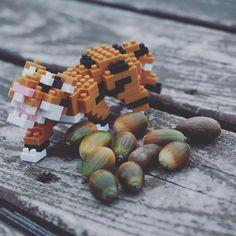 "29 mentions J'aime, 1 commentaires - nanoblock Michael (@itonoosi) sur Instagram: ""Tiger&Acorn🐅🍂 #ナノブロック #nanoblock #おもちゃ #toy #tiger #虎 #acorn #どんぐり #Autumn #秋 #四季 #公園 #木の実 #orange…"""