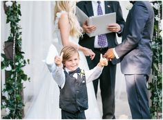 Thumbs up for the awesome wedding! Photo captured by Alyssia B Photography