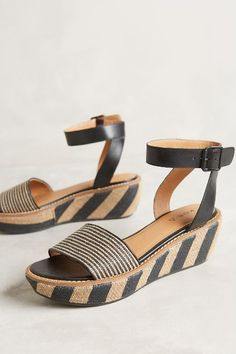 b811e83dd914bf Kelsi Dagger Striped Raffia Wedges - anthropologie.com  anthrofave Kelsi  Dagger