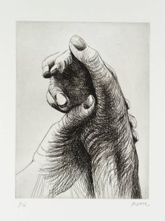 Henry Moore - The Artists Hand IV - 1979