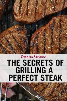 Grill the perfect steak in 7 easy steps. Enjoy juicy, tender grilled steaks every time with our steak grilling guide and tips. Grill the perfect steak in 7 easy steps. Enjoy juicy, tender grilled steaks every time with our steak grilling guide and tips. Grilling Sirloin Steak, Steak On Gas Grill, Top Sirloin Steak Recipe, Cooking Steak On Grill, Steaks On The Grill, Medium Rare Steak Grill, Grilling Chicken, Chicken Steak, Sirloin Steaks