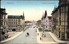 Budapest Hungary, Old Pictures, Louvre, Street View, History, Building, Travel, Modern, Antique Photos