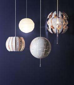 ÖVERUD lampenkap | #IKEAcatalogus #nieuw #2017 #IKEA #IKEAnl #woonkamer #lamp #verlichting #sfeer #hanglamp