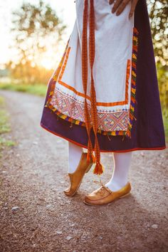 The Tuuteri folk dress, Finland Meanwhile In Finland, Historical Clothing, Folk Clothing, Fourth World, Folk Costume, My Heritage, Fashion History, Traditional Dresses, Europe
