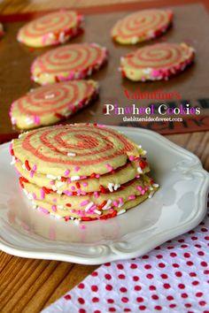 Valentine's Pinwheel Cookies (A Silpat Review) - theBitterSideofSweet