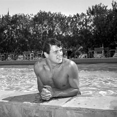 Bill Anderson, Rock Hudson, 1954. Collection Palm Springs Art Museum, gift of Dorothy Anderson © Palm Springs Art Museum