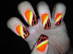 Neon by Tracilynne - Nail Art Gallery nailartgallery.nailsmag.com by Nails Magazine www.nailsmag.com #nailart