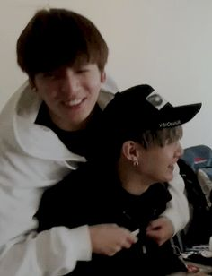 When they found out they were going to be rooming together! Cuties. Suga & jungkook