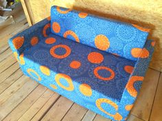 Slipcover for Solsta sofabed from IKEA  strong door KustomCovers, $99.00