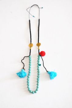 Boho Style Necklaces Raw Crystal Necklace by stellacreations