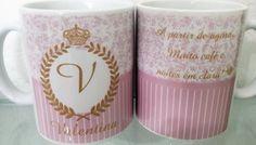 Caneca Personalizada de Nascimento Personalized Mugs, Creativity, Messages, In Living Color