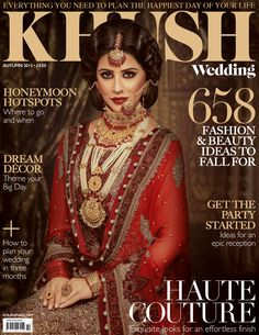 Asian Wedding Ideas From The Fastest Growing Bridal Magazine Khush Find Perfect Indian Or Stani Outfit Makeup Artist And Jewellery