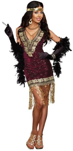 Sophisticated Lady Flapper Womens Costume from Buycostumes.com