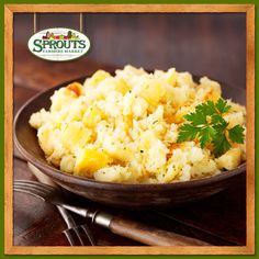 Parsnips add a sweet and nutty flavor to your classic mashed potato dish.