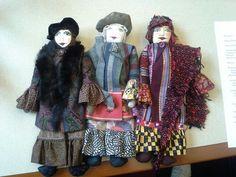 Julie G.'s Traveller dolls, at Ellis Island