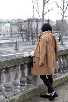 Layered up in Paris