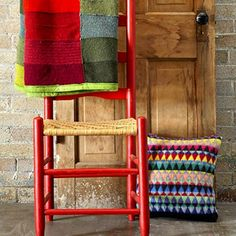 How-To: Recycled Sweater Throw from Better Homes and Gardens