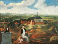 Thomas a kempis agnietenberg painting - Roms-Katholieke Kerk - Thomas van kempen op de Agnietberg. (1569)