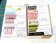 Organize your washi tape!