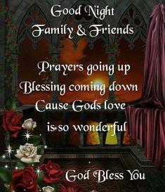 Sweet dreams God Bless