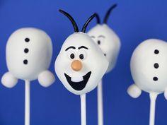 How To Make Olaf Cake Pops cakepins.com
