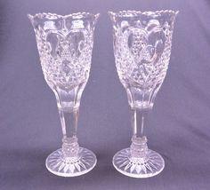 image 0 Clear Glass, Vase, Pattern, Breakfast Nook, Flower Vases, Jars, Model, Patterns, Vases